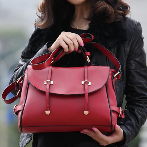 欧美范儿机车女包2014新款潮酷复古邮差包包甜美单肩包斜挎女式包