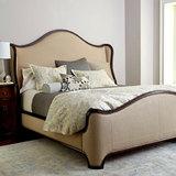 美式布艺双人床小户型公主实木床欧式现代卧室雕花婚床1.5 1.8米