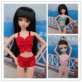 换装娃娃芭比娃娃玩具可用可穿 比基尼 内衣沙滩泳装衣服