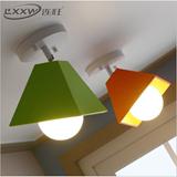 简约现代吸顶灯韩式宜家创意个性客厅卧室壁灯温馨浪漫单头吊灯具