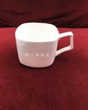 雅之源陶瓷韩式四方咖啡杯创意意式杯子卡布奇诺拉花咖啡杯子