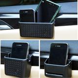 车载车用多功能途粘贴式手机盒 置物盒 笔桶 票据杂物盒 汽车用品