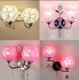 特价简约现代水晶壁灯LED墙壁过道灯个性创意客厅卧室床头灯壁灯
