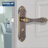 荣力斯 浴室内门锁卫生间门锁厕所门锁无锁芯无钥匙卫浴门锁单舌