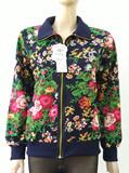 外套中老年女装薄款春季妈妈装中年人大码休闲夹克开衫上衣热卖