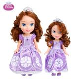 正品迪士尼苏菲亚小公主娃娃女孩玩具芭比娃娃儿童玩具生日礼物