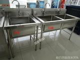 不锈钢商用水池水槽双槽洗狗池双星洗菜盆洗碗池消毒池酒店厨房