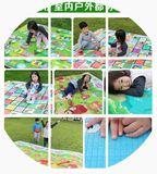 折叠防潮宝宝爬行垫儿童坐垫卧室客厅婴儿地毯爬爬垫泡沫地垫防水