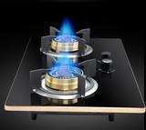 欧派正品联保 天燃气双灶 液化气钢化玻璃灶 猛火灶 嵌入式炉灶