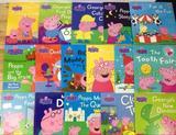 原版英文绘本粉红猪小妹peppa pig 故事绘本17本 贴纸书16本