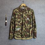 2016年春季新款 街头潮牌BAPE迷彩长袖休闲衬衫 男士ape衬衣外套