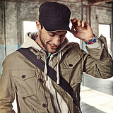 [db s]美国代购 Timberland  休闲男款休闲帽TC018 (2色)