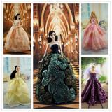 芭比娃娃衣服 公主晚礼纱裙 公主裙 芭比婚纱裙 第二波