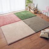 芦苇客厅茶几家用地垫卧室可手洗拼接地板垫床边毯定制榻榻米垫子