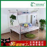 欧式床1.5铁艺子母床上下铺母子床双层床公寓宿舍高低床双人铁床