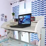 宿舍神器上铺电脑桌大学生寝室悬空书桌床上用笔记本懒人用电脑桌