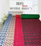 定制简约菱形格加厚地毯家用客厅卧室商用展厅满铺环保提花地毯