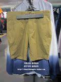 【专柜正品】SELECTED 斯莱德 男士商务休闲纯棉短裤 414215034