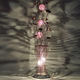 凯品铝线落地灯书房餐厅婚庆客厅装饰花瓶卧室床头现代中式LED灯