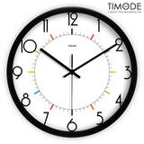 Timode优时 现代欧式时尚挂钟卧室客厅静音时钟挂表简约创意钟表