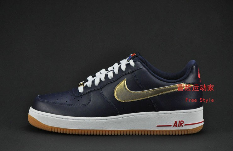 Nike Air Force 1USA Gold金牌限量空军一号耐克板鞋488298-406
