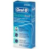 现货 美国正品Oral B Super Floss超级牙线 牙套/固定桥专用