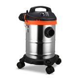 杰诺202X-18L吸尘器家用超静音小型干湿两用桶式除螨强力吸尘机