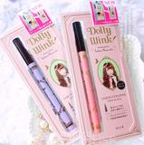 包邮 日本KOJI Dolly Wink 新款  益若翼新款 眼线液笔 棕色 黑色