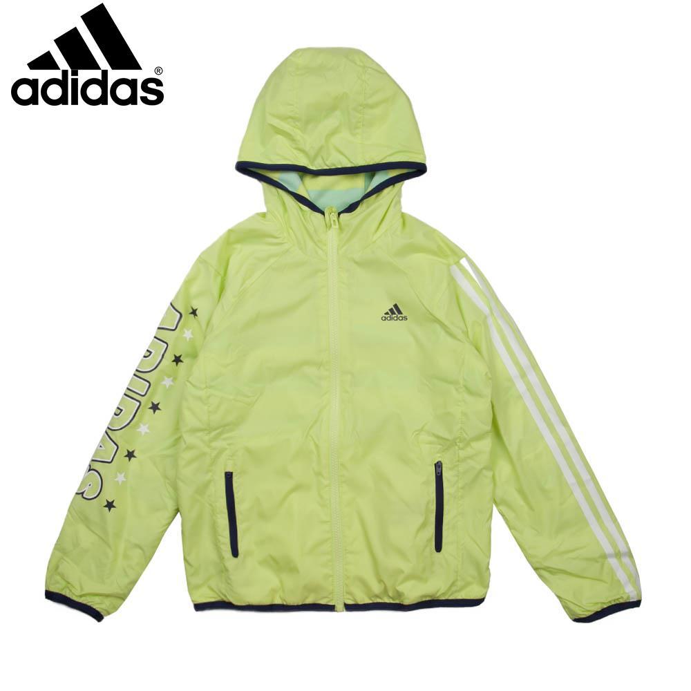 adidas阿迪达斯童装冬季新款专柜正品女大童梭织外套ah5467