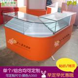 直销超市烟酒柜烟柜台收银台柜便利店烟柜台玻璃柜台烟展示柜货架