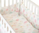 BB欧洲高全棉婴儿床品套装婴儿床围幼童被宝宝床七件套