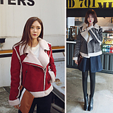 2016春秋新款女装韩国麂皮绒羊羔毛外套短款百搭春秋气质短外套女