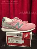 80後香港代购NEW BALANCE新百伦 15秋冬 潮款纯色跑步女鞋WR996GH