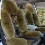 牛牛工艺 羊毛座垫 羊毛坐垫 汽车坐垫 座垫 冬季坐垫 狼皮坐垫