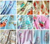 人造棉布料棉绸儿童服装宝宝睡衣裙子纯棉夏季面料DIY手工面料