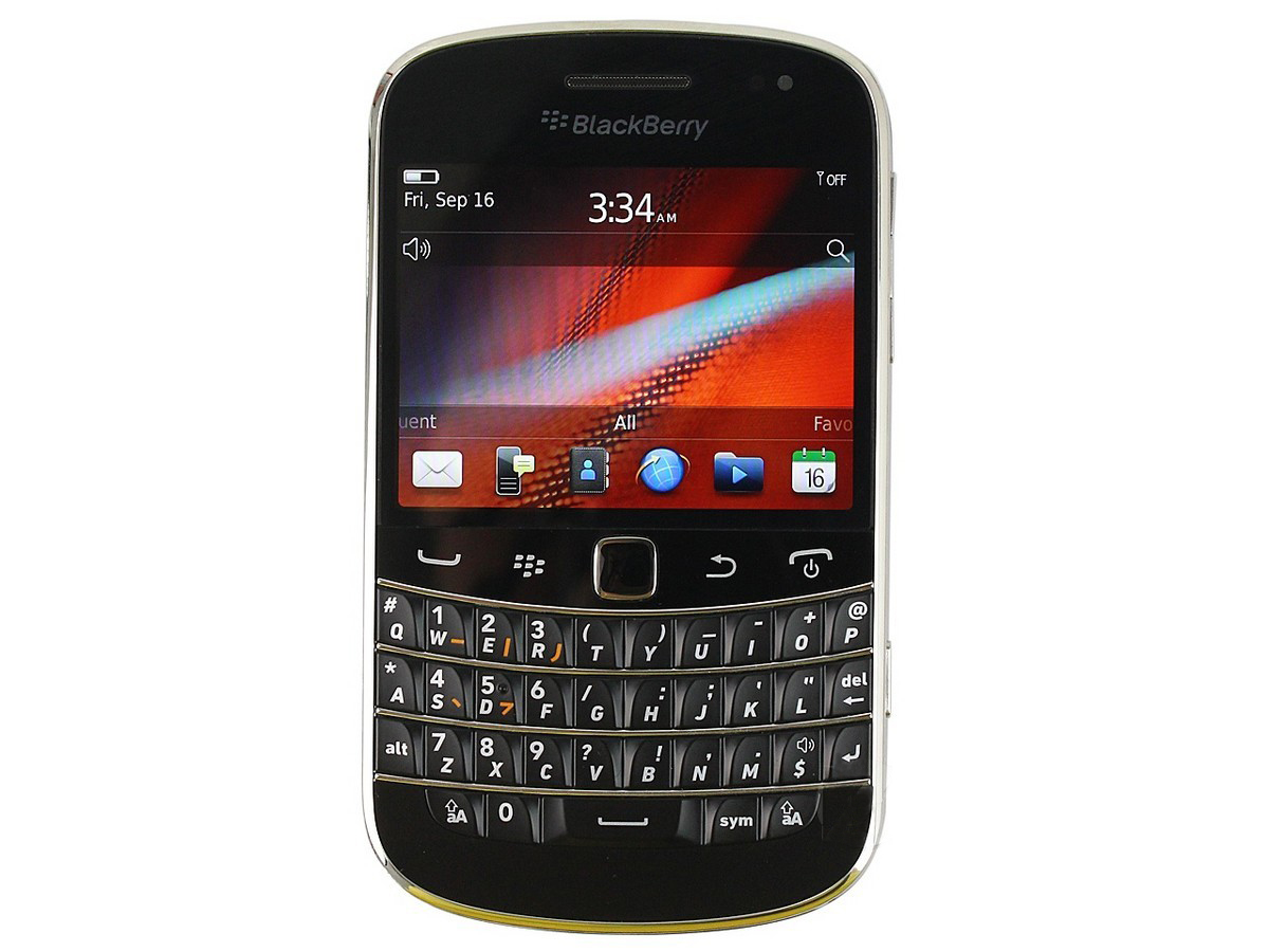 黑莓9900全新 手机