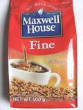 韩国进口咖啡 麦斯威尔咖啡Maxwell 纯咖啡黑咖啡 500g 速溶