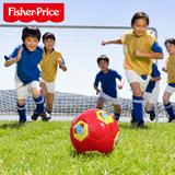 费雪儿童足球宝宝皮球训练球幼儿园加厚足球小皮球拍拍球认知球