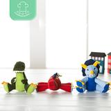 正品可爱儿童小孩毛绒玩具小恐龙公仔玩偶婴儿宝宝玩偶会叫0~3岁