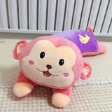 毛绒玩具猴子抱枕头大嘴猴公仔睡觉靠枕批发玩偶大号儿童沙发腰靠