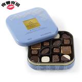 美国原装高迪瓦GODIVA歌帝梵巧克力饼干礼盒装520情人节生日礼物