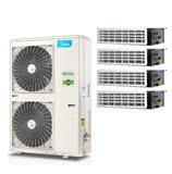 美的家用中央空调乐享家2代小5匹MDVH-V120W/N1-610P(E1)一拖四