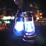 led小台灯手摇和太阳能充电复古小夜灯装饰灯吧台台灯野营灯包邮