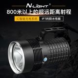手电筒强光可充电军 L2探照灯远程打猎LED远射超亮防水家用手提灯