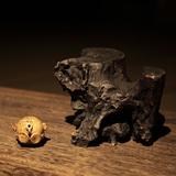 万仟堂家居饰品摆设 客厅木雕工艺品展架 中式创意摆件 长条枯木