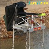 金阁新款15ASD钓椅 水陆两用 多功能深水钓台钓鱼椅折叠钓鱼包邮