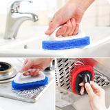 创意卫浴用品带把手浴缸刷 加厚海绵刷除垢擦 厨房浴室瓷砖清洁刷