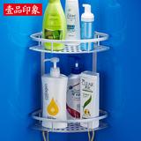浴室置物架卫生间置物架洗手间三角2层架卫浴转角架壁挂收纳3层
