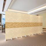 屏风隔断时尚中式现代简约客厅玄关餐厅酒店办公室布艺可移动折屏