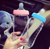 oppoR7s奶瓶手机壳R7s/r7ss奶嘴手机保护套可爱挂绳硅胶套软包邮